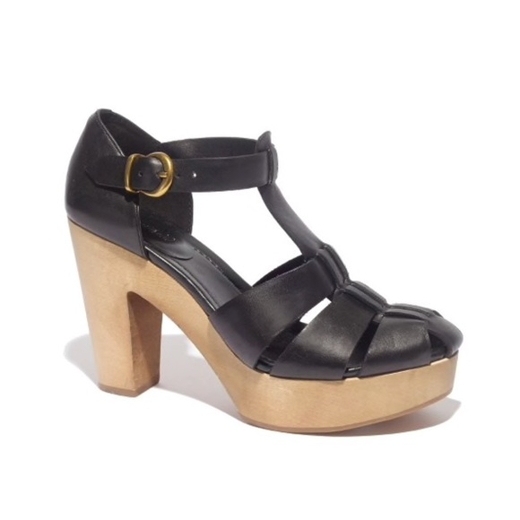 Madewell Shoes - Madewell the andie sandal heels in black